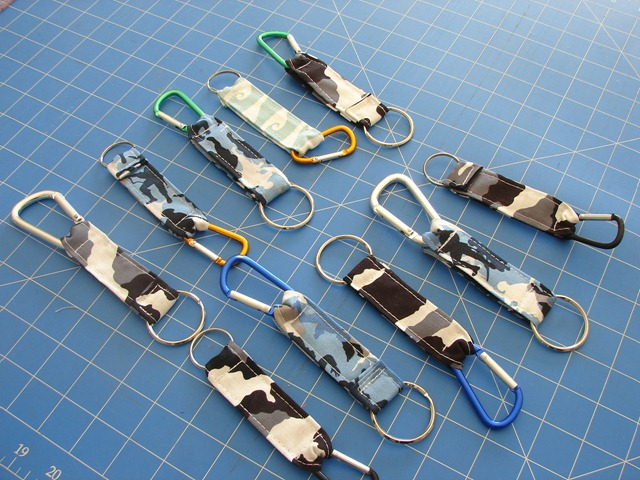 Father's Day Keyring Sewing Tutorial