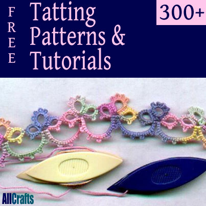 300 Tatting Tutorials and Patterns