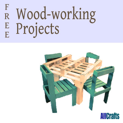 400+ Free Wood-Working Projects