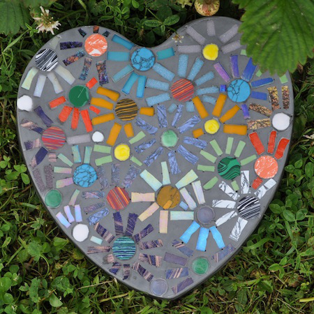 Mosaic Stepping Stone Tutorial