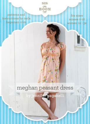 Easy Peasant Dress Sewing Pattern