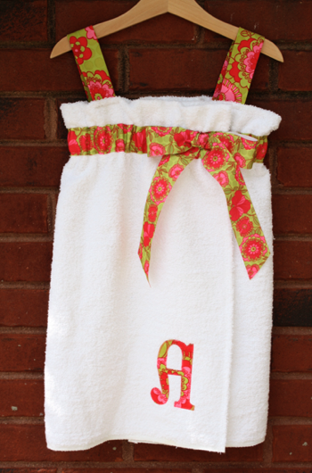 Girl's Towel Cover-up Tutorial