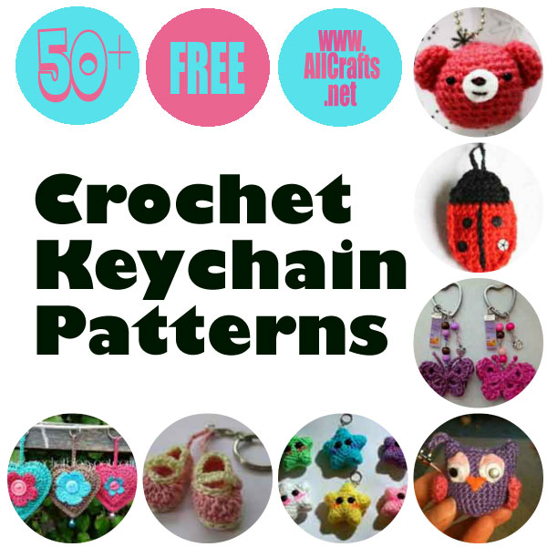50+ Free Crochet Keychain Patterns – AllCrafts Free Crafts Update