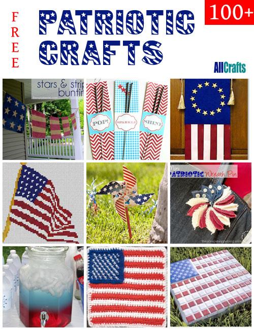100+ Free Patriotic Crafts