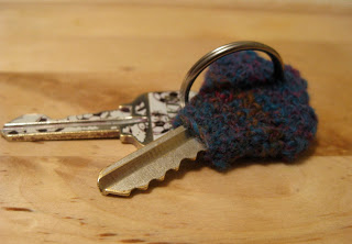 Crocheted Key Cozy Pattern