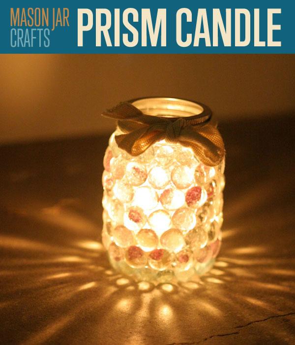 Prism Mason Jar Candle