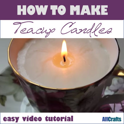 Teacup Candles How-to