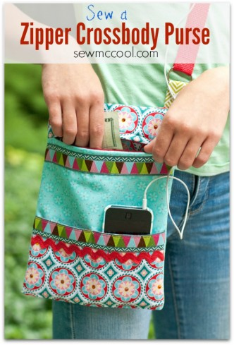 Crossbody Purse Sewing Tutorial