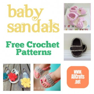 Baby Sandals Free Crochet Patterns