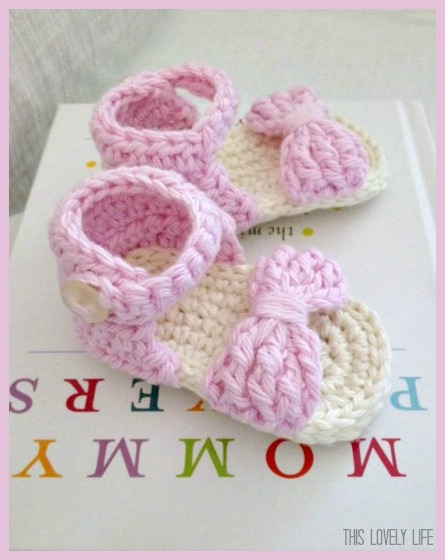 Baby Sandals Free Crochet Patterns ? AllCrafts Free Crafts ...