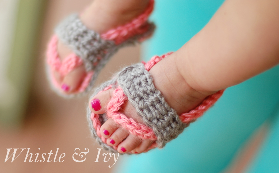 Crochet Baby Toe Sandals Free Pattern : Baby Sandals Free Crochet Patterns ? AllCrafts Free Crafts ...