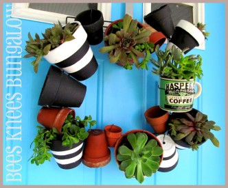 Pot Wreath Tutorial