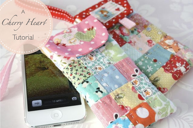 Scrappy Phone Case Quilting Tutorial