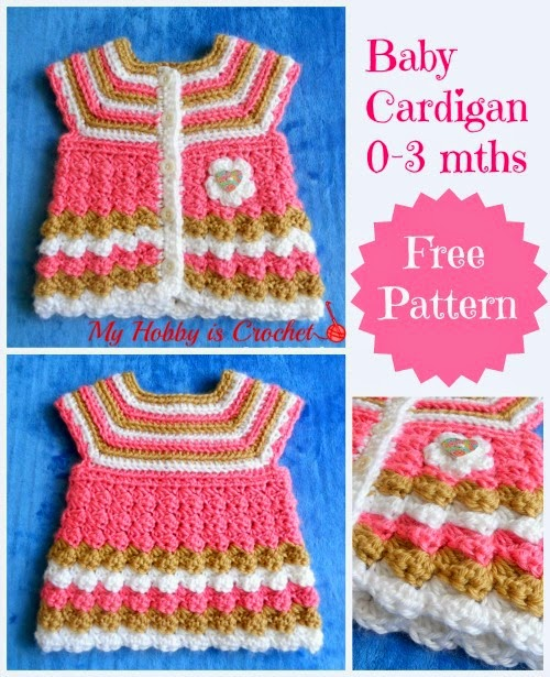 Free Baby Sweater Patterns To Crochet : Crochet Baby Cardigan Free Pattern ? AllCrafts Free Crafts ...