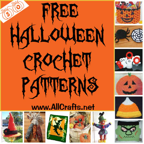 50 free halloween crochet patterns