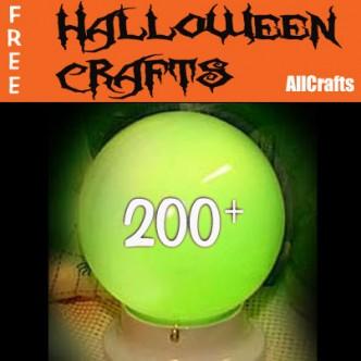 200+ Free Halloween Crafts