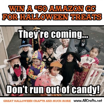 Enter to win a $50 Gift Card for Halloween Treats