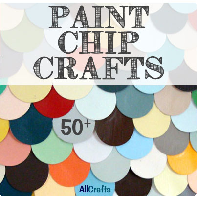 Free Paint Chip Crafts