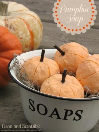 DIY Pumpkin Soap