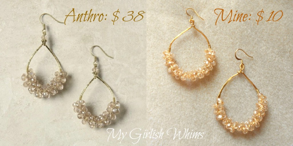 Anthropologie Knock-Off Earring Tutorial