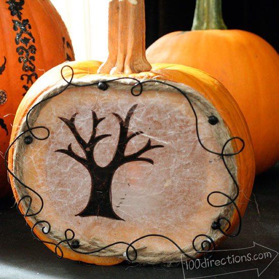Pumpkin Luminary Tutorial