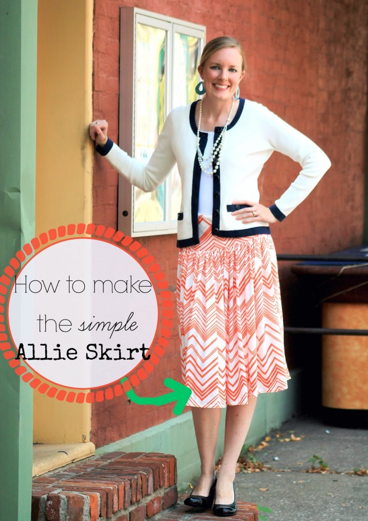 Simple Skirt Sewing Pattern