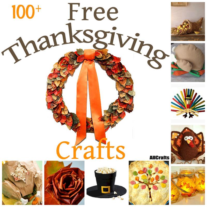 100+ Free Thanksgiving Crafts
