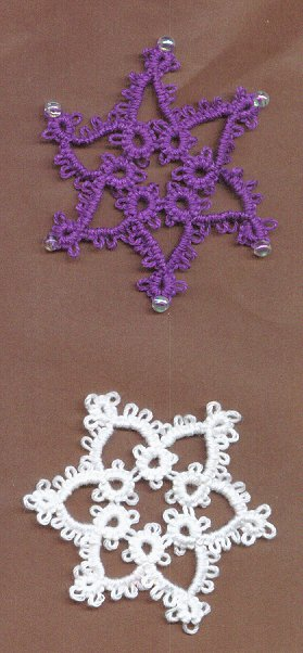 Easy Tatted Snowflake Pattern Allcrafts Free Crafts Update