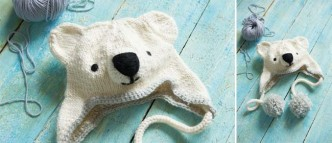 Knitted Polar Bear Hat Pattern