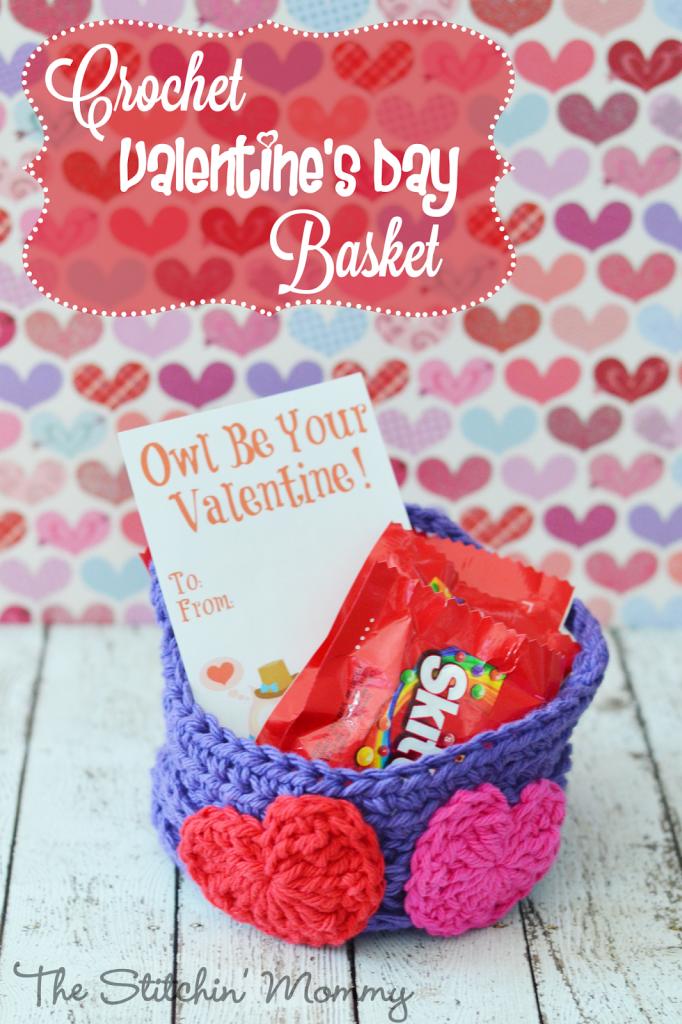 Crochet Patterns Valentines Day : crochetbasket