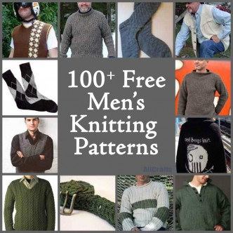100+ Free Men's Knitting Patterns