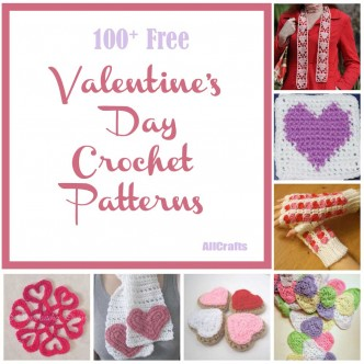 Crochet Valentines Day : 100 free valentine s day crochet patterns celebrate valentine s day in ...