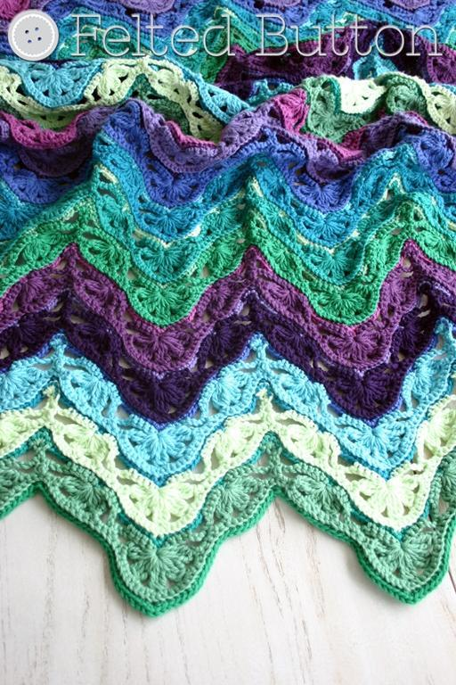 Pin Crocheting Irish Wave Baby Afghan on Pinterest