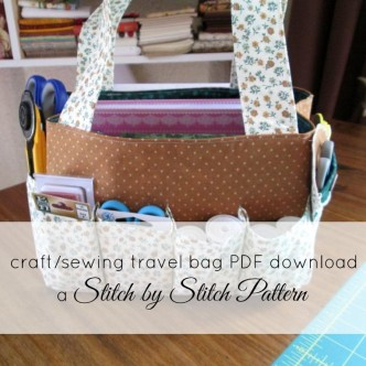 Craft Bag Free Sewing Pattern
