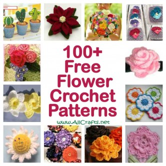 100+ Free Flower Crochet Patterns