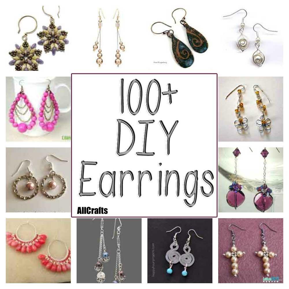 100+ DIY Earrings