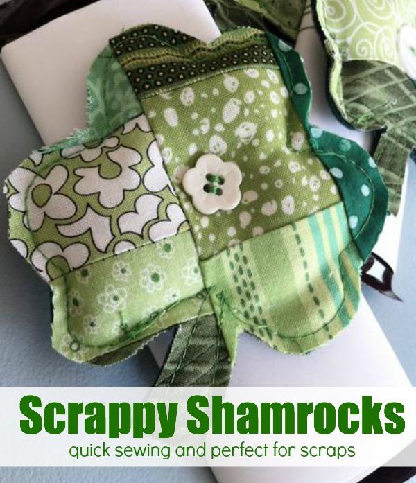 St. Patrick's Day Scrappy Shamrock Tutorial