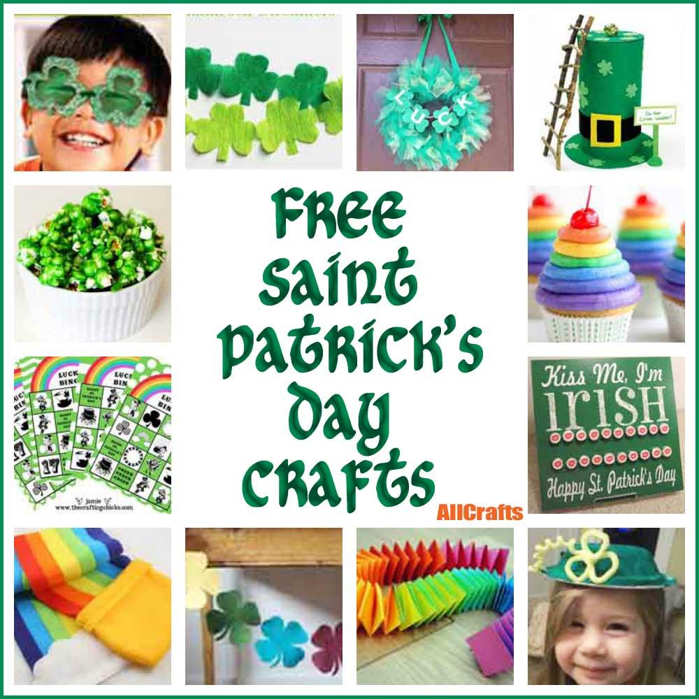 Free Saint Patrick's Day Crafts