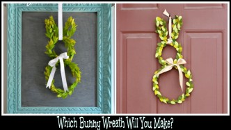 Bunny Topiary Wreath