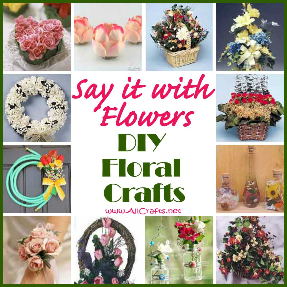 DIY Floral Crafts