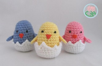work up tiny and quick. Perfect for popping into an Easter basket! Added to