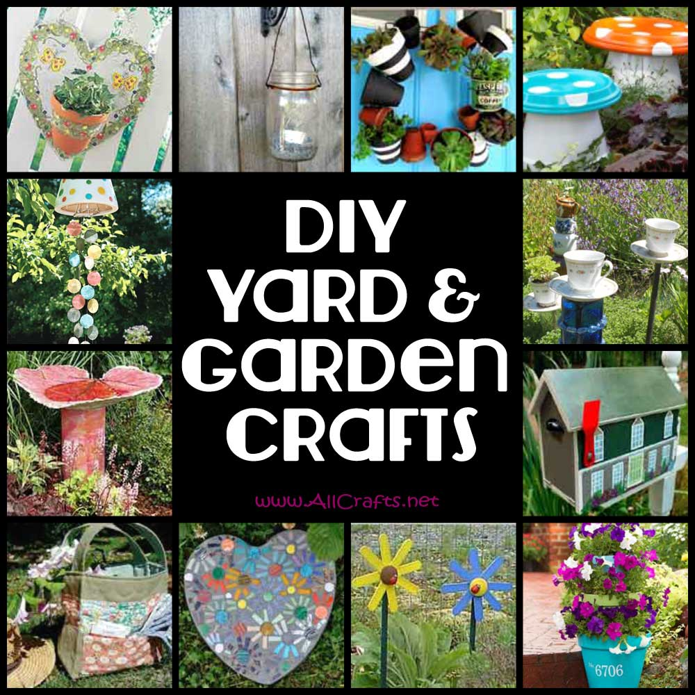 Diy yard and garden crafts allcrafts free crafts update Yard and garden