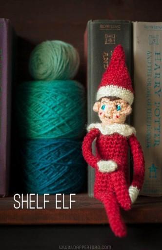 Shelf Elf Free Crochet Pattern