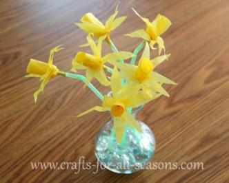 Tissue Paper Daffodils
