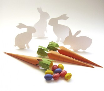 Printable Carrot Easter Treat Boxes