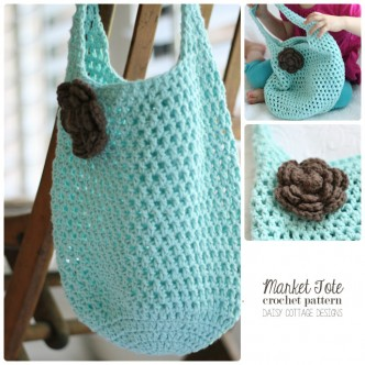 Free Mommy and Me Tote Crochet Patterns