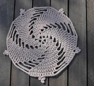 Zpagetti Rug Free Crochet Pattern