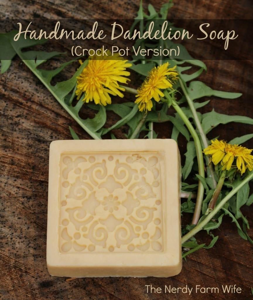 Handmade Dandelion Soap