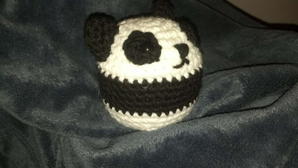 Panda Ball Crochet Pattern