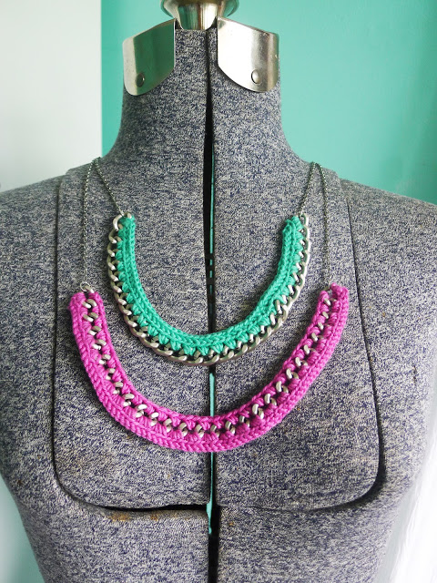DIY Crochet Necklace